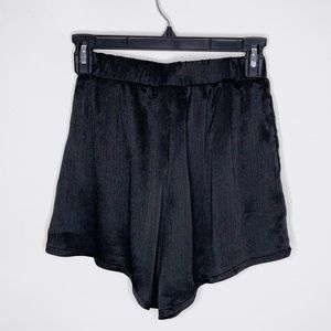 LF Here Comes The Sun Black High-Waisted Shorts